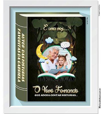 Quadro Personalizado Avós - Histórias Avós