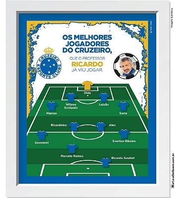 Quadro Personalizado Pai - Seleção Cruzeiro