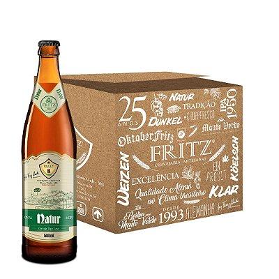 Cerveja Fritz Natur - 500ml - CAIXA 12 UNIDADES