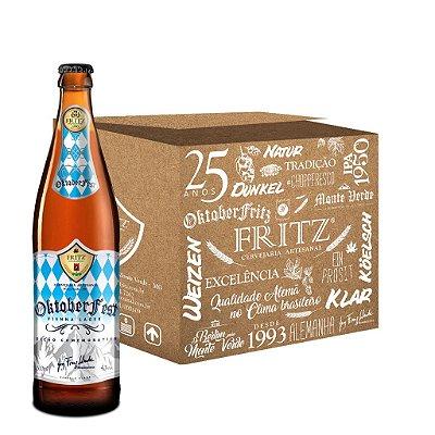 Cerveja Fritz Oktoberfest - 500ML - CAIXA 12 UNIDADES