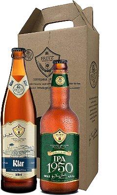 Pack 2 Cervejas Fritz - Klar + IPA1950 - 500ml