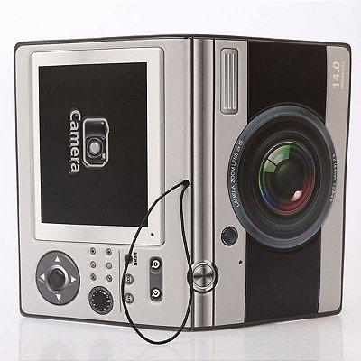 Capa passaporte máquina fotográfica - cód.106