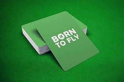 Baralho Born to Fly - Verde e Amerelo