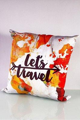 Almofada Vamos viajar