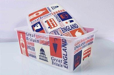 Caixa Organizadora decorada Londres