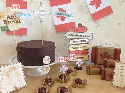 Kit Festa Canadá
