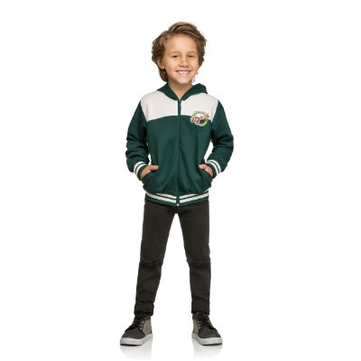 Jaqueta masculina infantil Tamanho 4