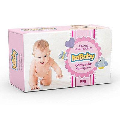 Sabonete Infantil Hidratante IsaBaby Camomila 80g