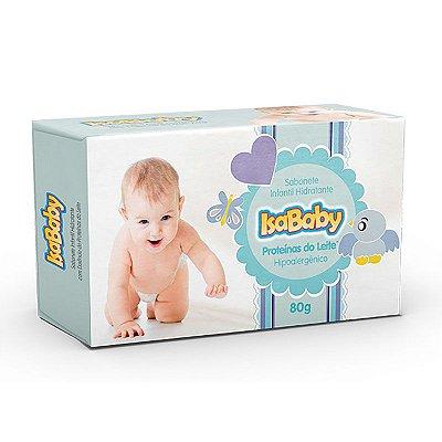 Sabonete Infantil Hidratante IsaBaby Proteinas do Leite 80g
