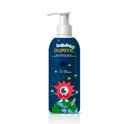 Shampoo IsaBaby Bu Azul Sem Lágrimas 200ml