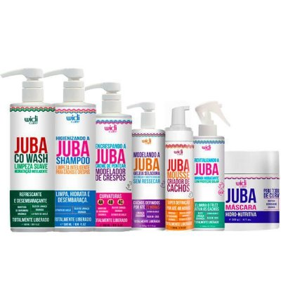 Kit Completo Encrespando a Juba - Widi Care