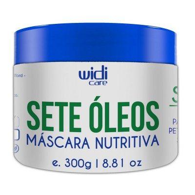 Sete Óleos Máscara Nutritiva 300g - Widi Care
