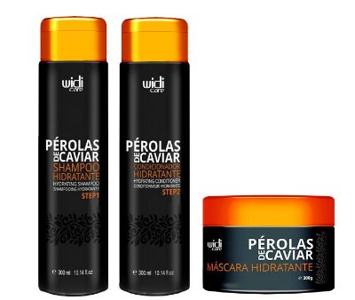 Kit Pérolas de Caviar Hidratação Intensa - Widi Care