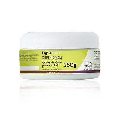DevaCurl SuperCream Creme de Coco para Cachos - 250g