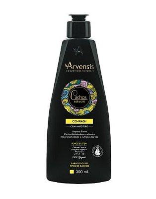 Co-Wash Com Anfótero Cachos Naturais Arvensis - 300ml