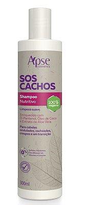 Shampoo Nutritivo SOS Cachos 300ml - Apse