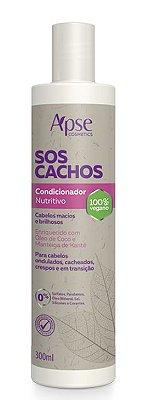 Condicionador Nutritivo SOS Cachos 300ml - Apse