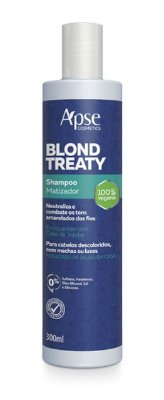 Shampoo Blond Treaty Matizador 300ml - Apse