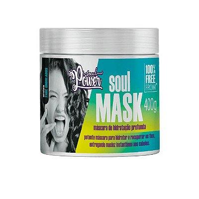 Máscara Soul Mask Hidratação Profunda 400g - Soul Power