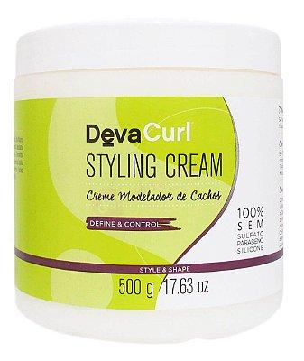 DevaCurl Styling Cream Creme Modelador de Cachos - 500g