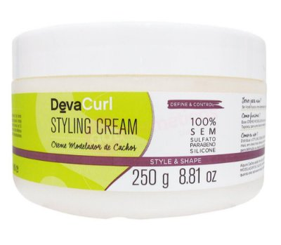 DevaCurl Styling Cream Creme Modelador de Cachos - 250g