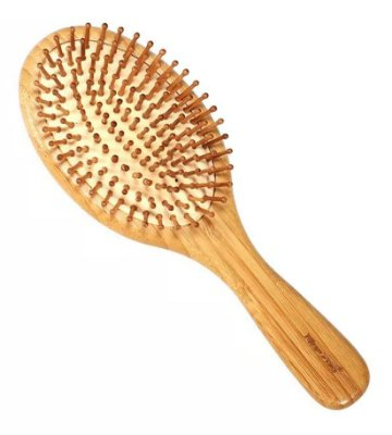 Escova De Cabelo Bambu Natural - BlueZoo