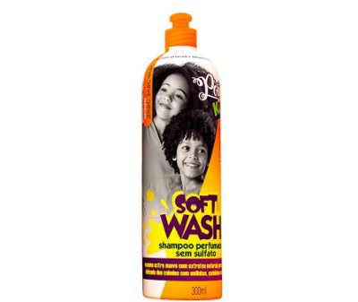 Shampoo Infantil Soft Wash 300ml - Soul Power