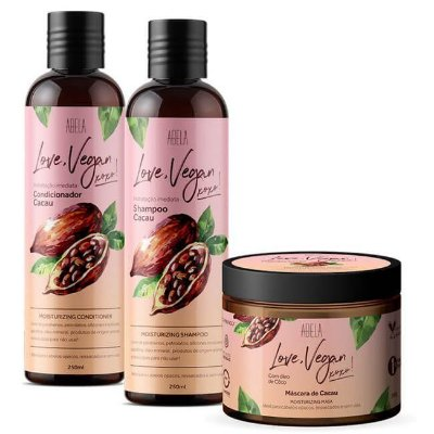 Kit Completo Love, Vegan Cacau - Abela