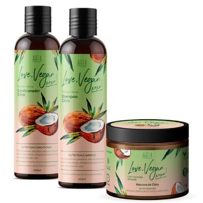 Kit Completo Love, Vegan Coco - Abela