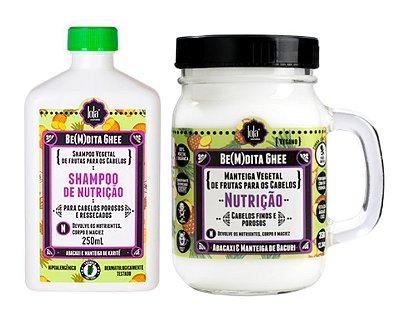 kit Ghee Nutrição Abacaxi & Manteiga de Bacuri - Lola Cosmetics