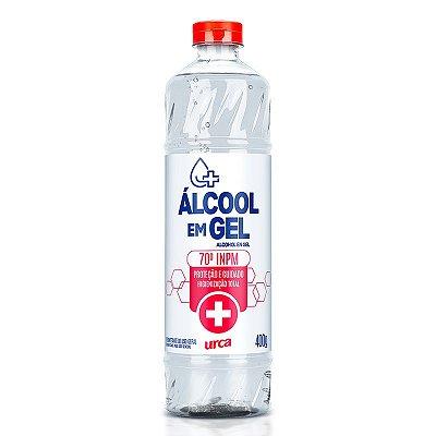 Álcool em Gel Higienizante Antisséptico 400ml - 70° INPM