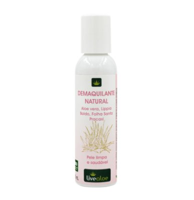 Demaquilante Natural 120ml - Livealoe
