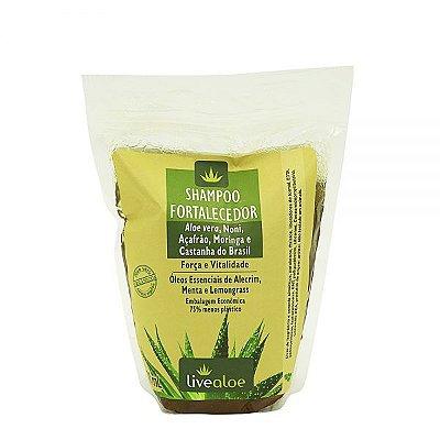 Refil Shampoo Fortalecedor 500ml - Livealoe