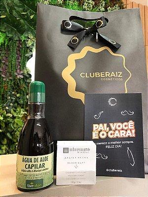 Kit Pai Herói - Aguá Purificante + Sabonete Argila Negra