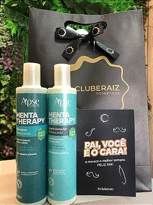 kit Pai Vaidoso - Shampoo e Condicionador Refrescante