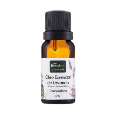 Óleo Essencial Natural de Lavanda 15ml – Livealoe
