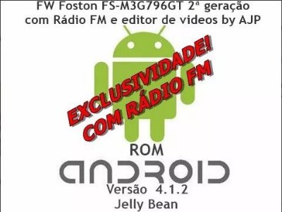 Rom Firmware Android Com Rádio Fm Tablet Foston Fs-m3g796gt