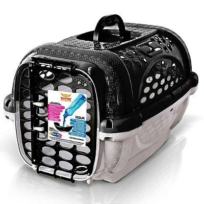 Caixa De Transporte Panther Para Cães e Gatos Nº3