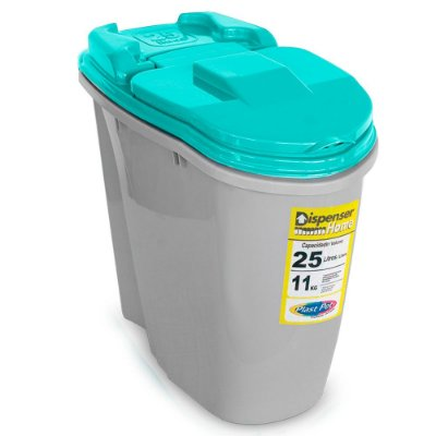 Porta Ração Dispenser Home 25L Plast Pet