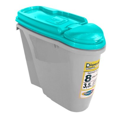 Porta Ração Dispenser Home 8L Plast Pet