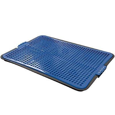 Sanitário Higiênico Pipi Jornal Plast Pet Azul