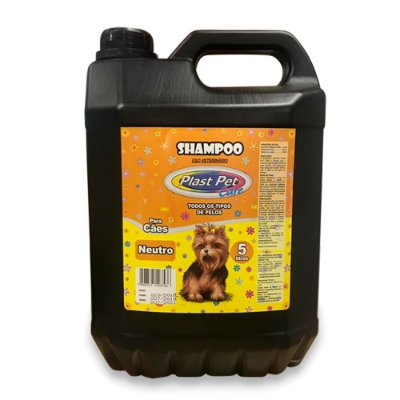 Shampoo Neutro Plast Pet 5L