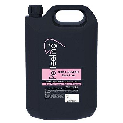 Shampoo Pré-Lavagem Pet 5L Extra Suave Petfeeling