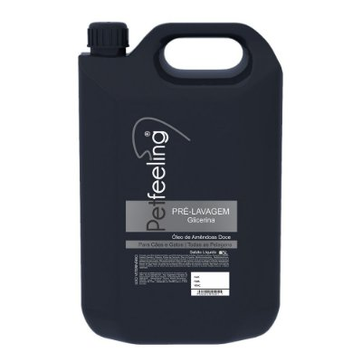Shampoo Pré-Lavagem Pet 5L Glicerina Petfeeling