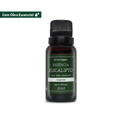 Aromagia Essência Com Óleo Essencial de Eucalipto 20ml