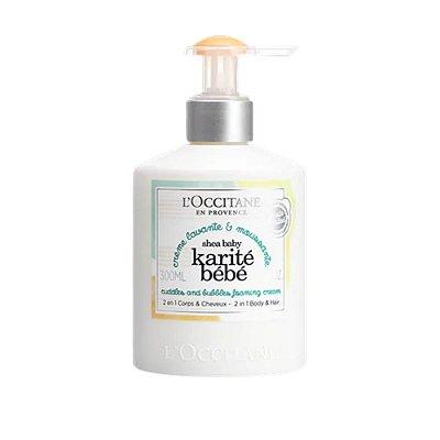 L´Occitane Shampoo Cabelo e Corpo Karité Bebê 300ml