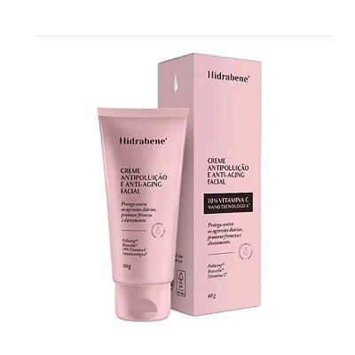 Hidrabene Creme Antipoluição e Antiaging Facial 60g