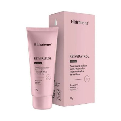 Hidrabene Resveratrol Antioxidante 30g