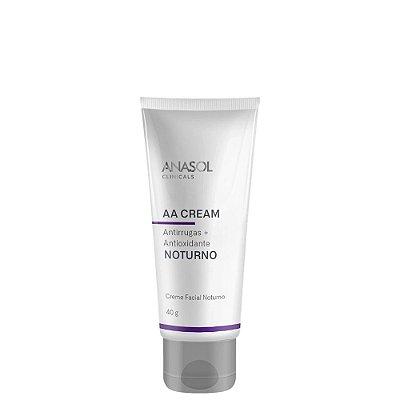 Anasol AA Cream Anti-Idade Facial Noturno 40g