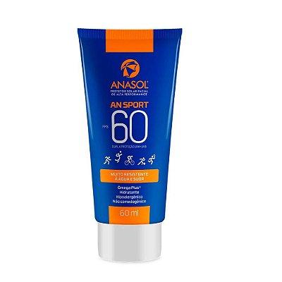 Anasol Protetor Solar Facial Ansport FPS 60 60ml